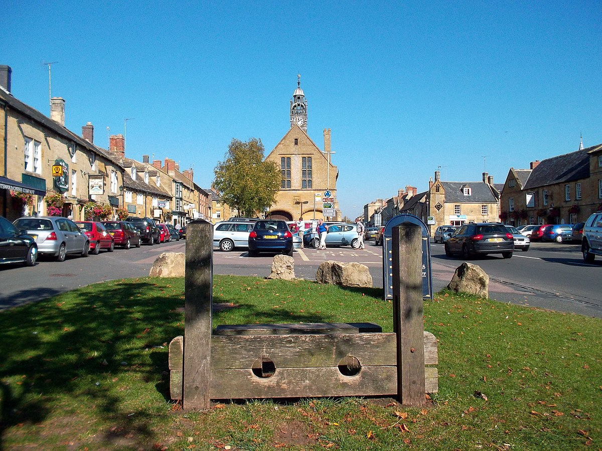 Moreton Stocks on High Street